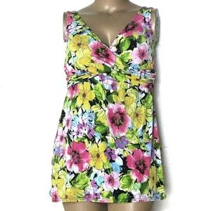 Catalina 18W, Floral Swimdress